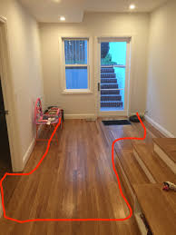 Refinishing Cupped Hardwood Floors by Wood Floor Cupping Problem Hardwood Refinish Installed Room