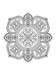 Mindfulness Mandalas No3 Coloring SheetsAdult