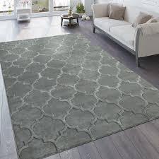 designer teppich wohnzimmer 3d effekt marokkanisches muster