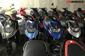 The Sporty Scooter From Piaggio Group Aprilia SR 150 Is All Set To Get Four New Colour Options In Indian Two Wheeler Market Said Colours Have Been