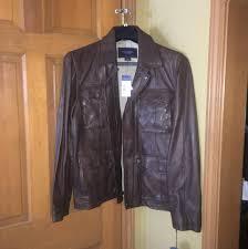 daniel cremieux leather leather jacket