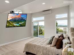 elektrische tv deckenhalterung monlines mmotion flip