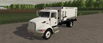 100 Feed Truck Peterbilt V1000 For LS19 Farming Simulator