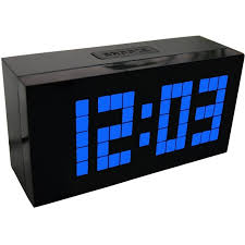 Large Display Big Jumbo Creative Alarm Clock Light Digital Wall Cool Design Free Shipping