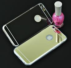Hot Luxury Mirror Electroplating Soft Clear TPU Cases For iPhone
