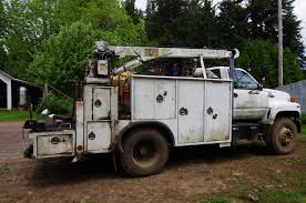Mechanic's Truck : 1994 GMC Topkick With Caterpillar 3116