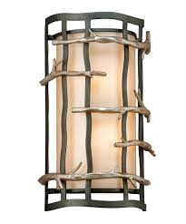 troy lighting b2882 adirondack 9 inch wide wall sconce capitol