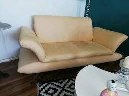 sofa 2 sitzer koinor microfaser in hessen wiesbaden