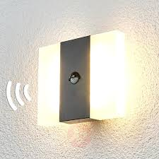 motion sensor wall light led indoor outdoor for home l