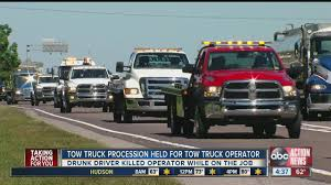 Tow Truck Procession Held For Tow Truck Operator Killed On I-75 ... T Disney Trucking Reliable Safe Proven Owner Operator Company Voyager Nation Ccpi Exhibiting At The Great American Truck Show Comcar Trucking Bojeremyeatonco Demolition Dumpster Rentals And Rv Parts Service The Evils Of Driver Recruiting Talkcdl How To Train For Your Class A Cdl While Working Regular Job Fedex Jobs El Paso Driving Jobs Phoenix Az Best Image Kusaboshicom Solutions Sponsored Traing Youtube Biz Buzz Archive Land Line Magazine