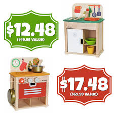 GONE Toys R Us $29 96 PlanToys Sink & Fridge Kitchen Sets