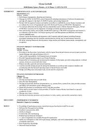 Download Controller Finance Resume Sample As Image File