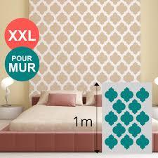 pochoir mural chambre pochoir pour mur de chambre idées uniques pochoir mural motif