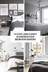 100 Swedish Bedroom Design 74 Cozy And Comfy Scandinavian S DigsDigs