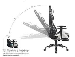 Reclining Gaming Chair With Footrest by New Racing Style Chair With Footrest Recliner Ergonomic Executive