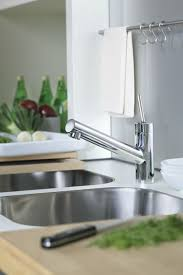 Grohe Axor Kitchen Faucet by Hansgrohe 10801001 Single Lever Handle Kitchen Cast Spout Faucet