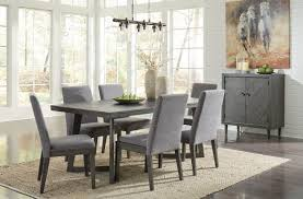 Ashley Besteneer Dark Gray 8 Pc. Rectangular Table, 6 Upholstered ... Ashley Extending Ding Table And 4 Adelf Button Back Grey Fabric Chairs Fniture D53002 Tufted Roll Back Parson Ding Chair Tyler Creek Blackgray Rectangular Room On Sale G Plan X Afromosia Teak Newly Reupholstered Orla Signature Design By Glambrey Chair Set Of Living Round D58315 S Amazoncom D8225 Hyland Cool 5 Piece Pub Furn White And Dresbar 7piece Six Laura Genuine Leather Great Cdition Waurika D644 Review Youtube