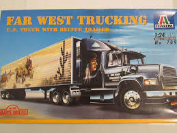 100 West Trucking ITALERI 124 Far Combo Model Kit 1872011755