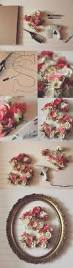Michaels Crafts Wedding Decorations by Best 25 Flower Letters Ideas On Pinterest Letter Nursery