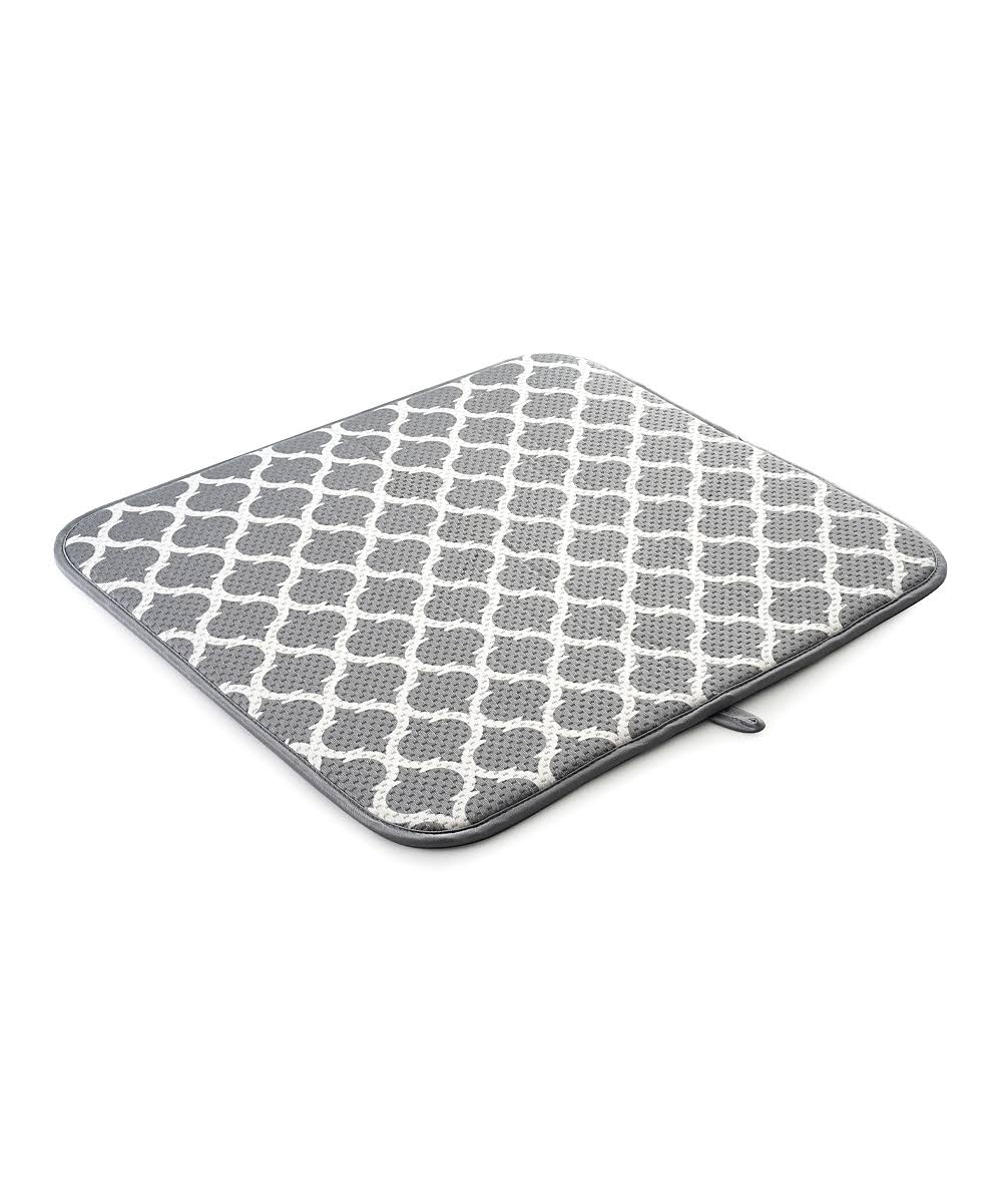 Norpro Dish Drying Mats - Gray Trellis Dish Drying Mat