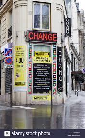bureau change bureau de change exchange currency on the streets of in