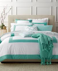 charter club damask designs colorblock teal bedding collection