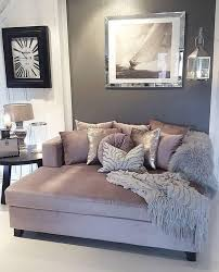 Love This Mauve Gray And White Color Scheme For The Living Room