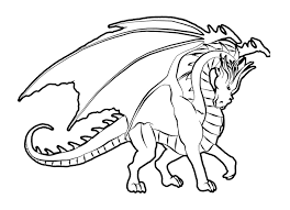 Printable 17 Fire Dragon Coloring Pages 4179
