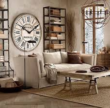 Industrial Living Room Ideas With Vintage And Rustic Style