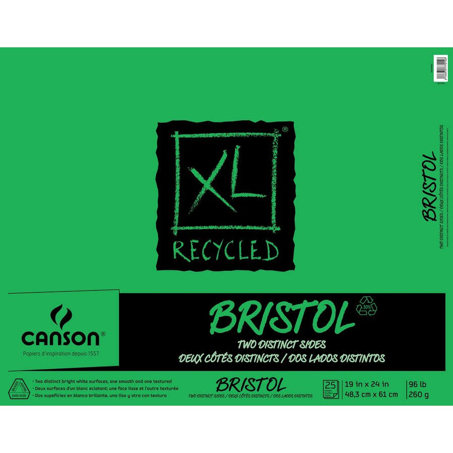 Canson XL Recycled Bristol Pad