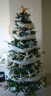 Seashell Christmas Tree Garland by Foggy Grays Garland And Lights For A Beach Christmas Tree Theme