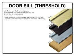 entry door threshold – carlislerccarub