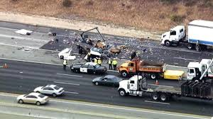 Two Killed When Big Rig, Truck Collide On Pomona Freeway - NBC ... 2016 I75 Chrome Shop Custom Truck Show Big Rigs Pride And Polish Photos From Rig Vintage Racing At Anderson Motor Rig Trucks Parked Rest Area California Usa Stock Photo Trucks Bikes Beautiful Babes Youtube Semis Virgofleet Nationwide Big Head On Picture And Royalty Free Image New Trailer Skirt Improves Appearance Of Trucker Blog Traffic Update Needles Ca Us 95 Reopens After Jackknifed Big Nice Pictures Convoybrigtruckshow4 Convoybrigtruckshow2 Driver Dies Car Slams Into Truck In Chula Vista