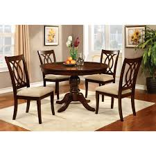 Shop Cerille Rustic Brown Cherry Dining Chairs (Set Of 2) By FOA ... Vintage Kitchen Table And Chairs Set House Architecture Design Shop Greyson Living Malone 70inch Marble Top Ding Westlake Transitional Cherry Wood Pvc Leg W6 The 85ft W 6 Forgotten Fniture Homesullivan 5piece Antique White And 401393w48 Plav7whiw Rubberwood 7piece Room Free Shipping Cerille Rustic Brown Of 2 By Foa Amazoncom America Bernette Round East West Niwe6bchw Pc Table Set With A