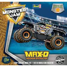 Revell 1/25 Max D Monster Truck SCALE SNAP TITE PLASTIC MODEL KIT ... Monster Jam Maxd Hot Wheels Rev 2017 25 Truck Maxd And Similar Items 164 Drr68 Axial 110 Smt10 4wd Rtr Towerhobbiescom Rc Offroad 4x4 Buy Maxium Destruction With Revell 125 Max D Scale Snap Tite Plastic Model Kit Toy Australia Best Resource Electric Powered Trucks Hobbytown 2018 Series Wiki Fandom Powered By Wikia