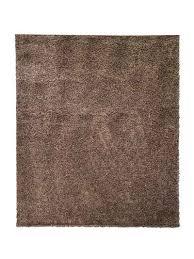 hochflor teppich einfarbig shaggy teppich siela quadratisch höhe 8 mm wohnzimmer schlafzimmer küche läufer flur hochflor braun
