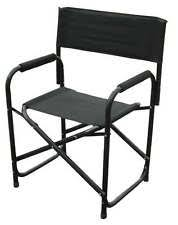 Professional Tall Folding Directors Chair by Aluminum Directors Chair Ebay