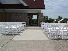 Chair Folding White Garden