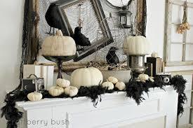 Halloween Fireplace Mantel Scarf ideas spooky mantel design ideas with halloween theme to make