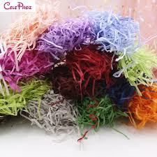Shredded Tissue Paper Raffia Confetti DIY Crafts Material Giftbox Filling Wedding Birthday Party Decoration Supplies