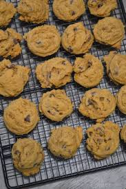 Freeze Pumpkin Puree From Can by Chewy Pumpkin Chocolate Chip Cookies Our Thrifty Ideas