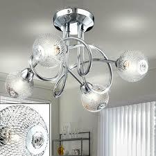 home lighting design alu geflecht gedreht decken le chrom
