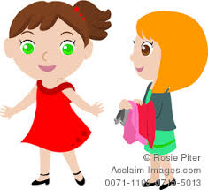 Playing Dress Up Clipart Stock Photography