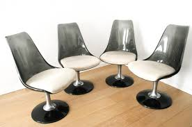 Chromcraft Dining Room Chairs by Space Age Marquise Dining Set From Chromcraft 1970s Set Of 5 For