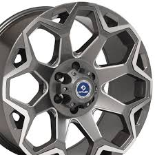 20x9 Blade Runner 4Play Wheel Gunmetal Machined Face 6-Lug 20