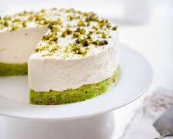 cake a la pate de pistache recette cheesecake aux pistaches facile rapide
