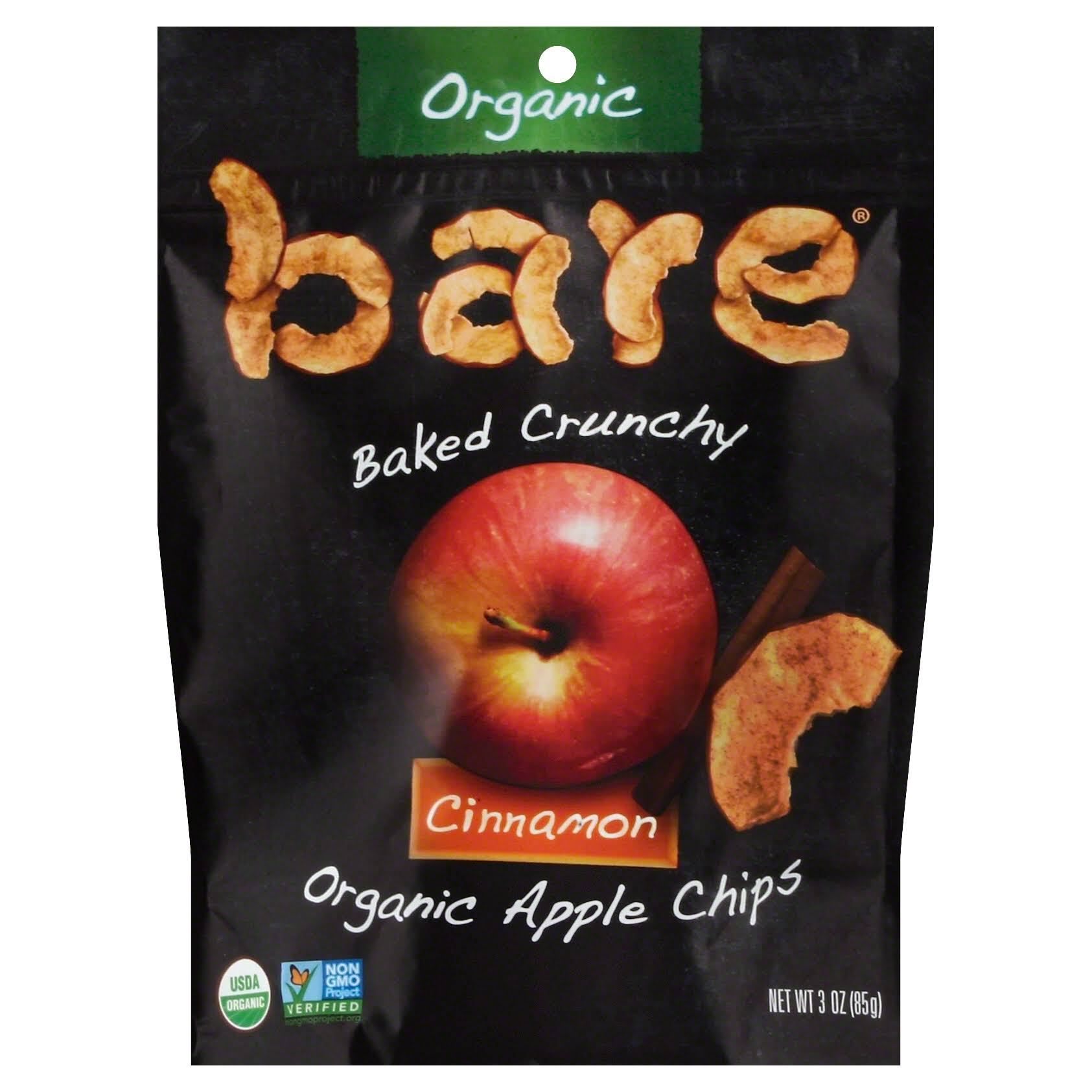 Bare Fruit Apple Chips - Cinnamon