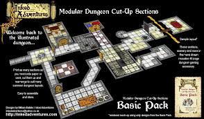 3d Printed Dungeon Tiles by Enhanced Advanced Heroquest 2013