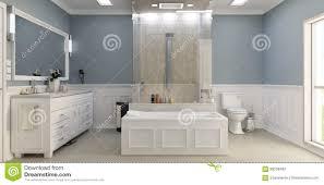 modernes klassisches badezimmer mit wc stockbild bild