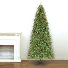9 Ft Slim Christmas Tree Fir Narrow Home Depot